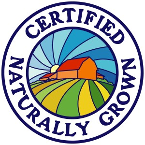 Proud to be 'Certified Naturally Grown'